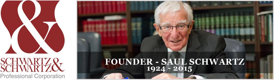 Founder Saul Schwartz 1924 - 2015